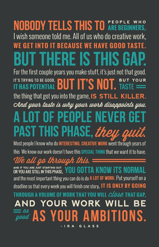 there is a gap_ira glass